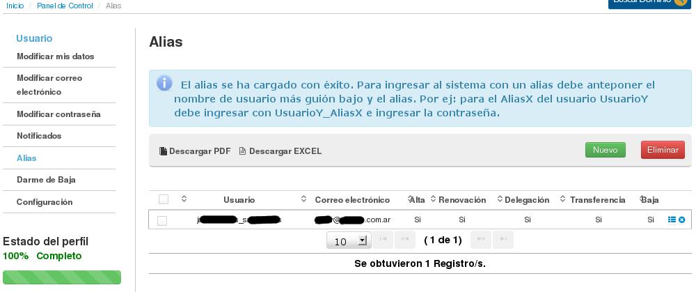 NIC Argentina - Registro de Usuario - alta de alias3