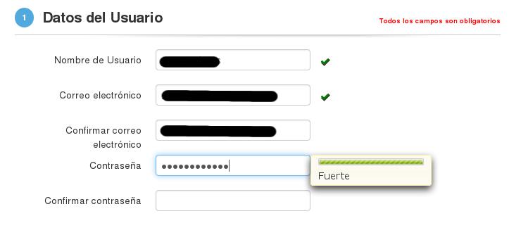 NIC Argentina - Registro de Usuario - clave incorrecta2