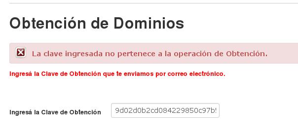 NIC Argentina - Registro de Usuario - obtenerdominiosviejosnoanda