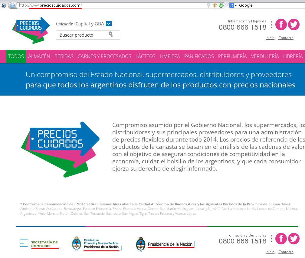 precioscuidados.com